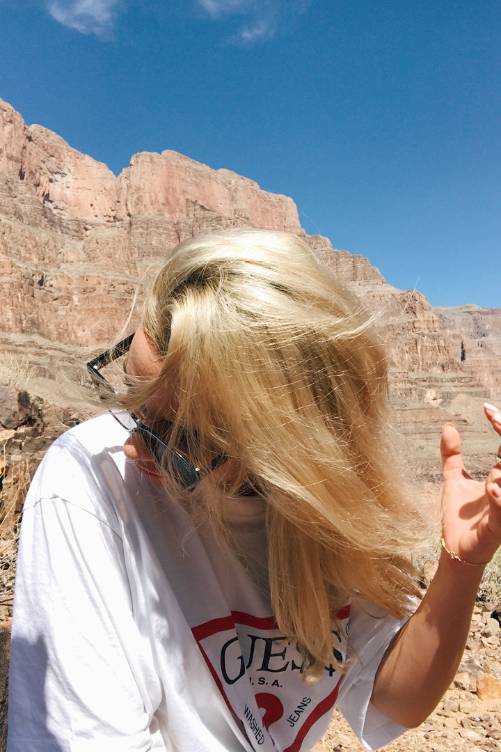 My Portrait in Grand Canyon